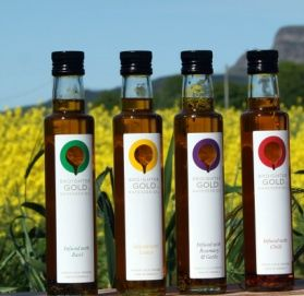Broighter Gold Premium Rapeseed Oils produced in Limavady
